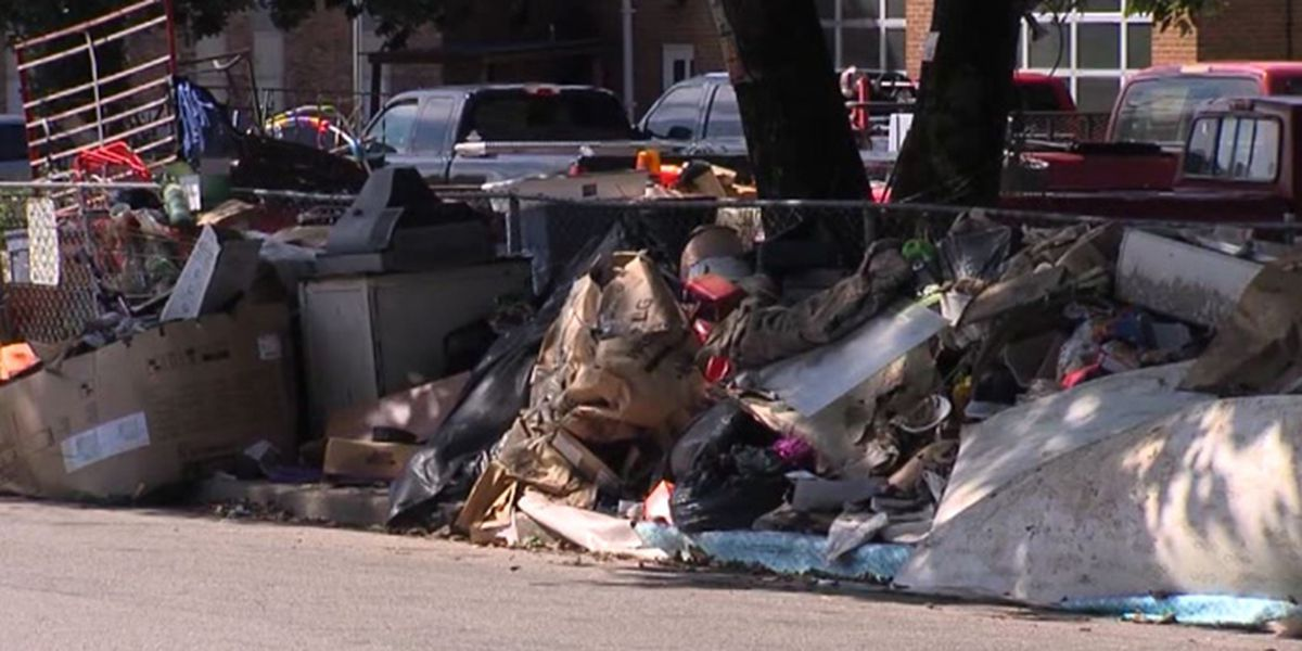 'Mount Trashmore': Man upsets neighbors with pile of garbage on sidewalk