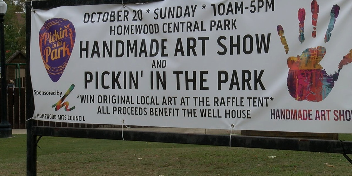 Homewood Pickin' in the Park and Handmade Art Show