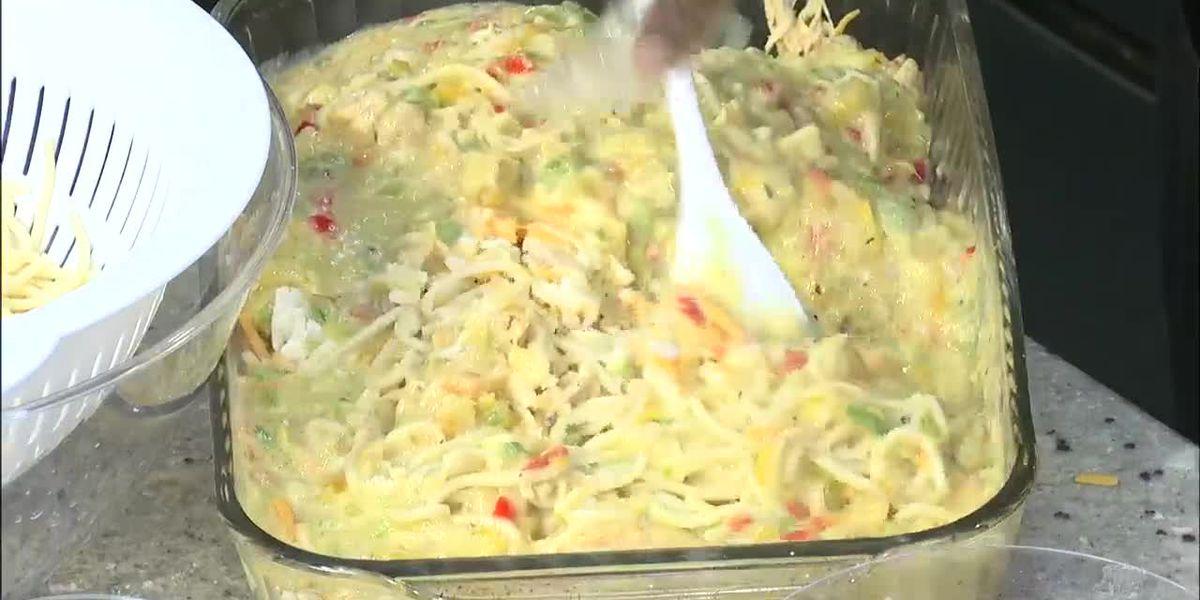 Zatie's Southern Cuisine: Chicken Tetrazzini