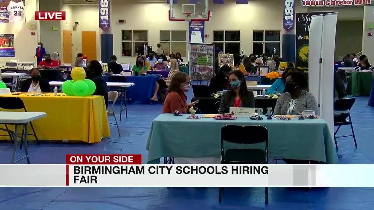 Birmingham City Schools looking to fill open positions, hosts job fair