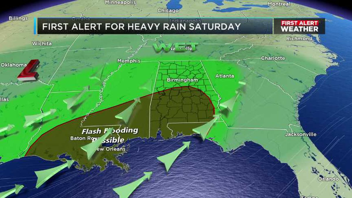Rain will continue to increase across the state tonight and tomorrow