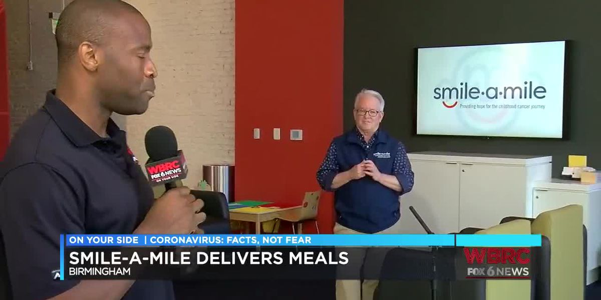 Smile-A-Mile delivers meals from Edgar's to Children's of Alabama