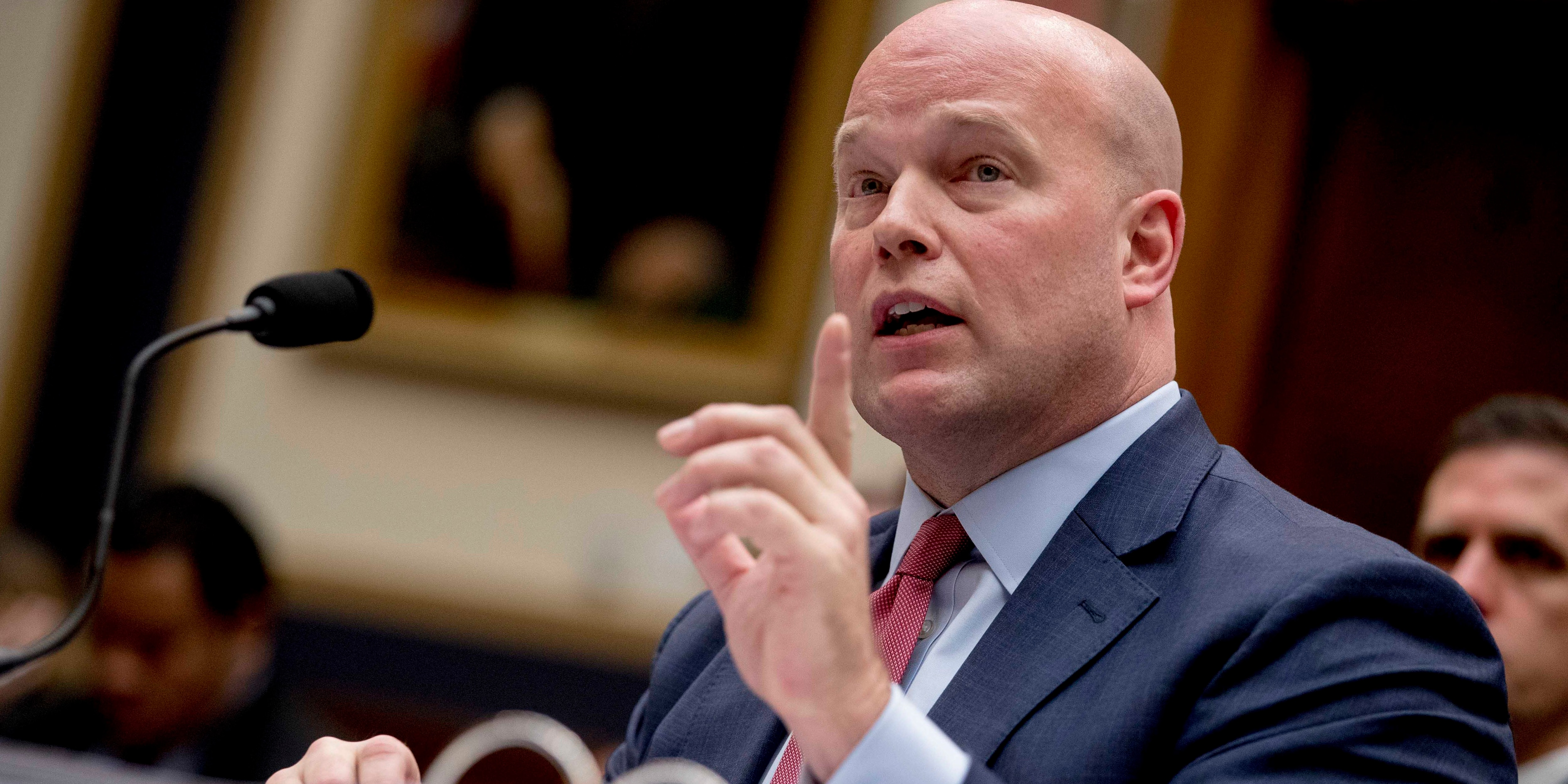 Ex-acting AG Matthew Whitaker leaves Justice Department