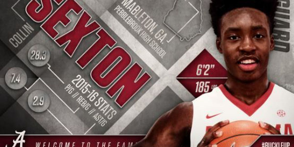 Collin Sexton to serve one game suspension for violation of NCAA rules