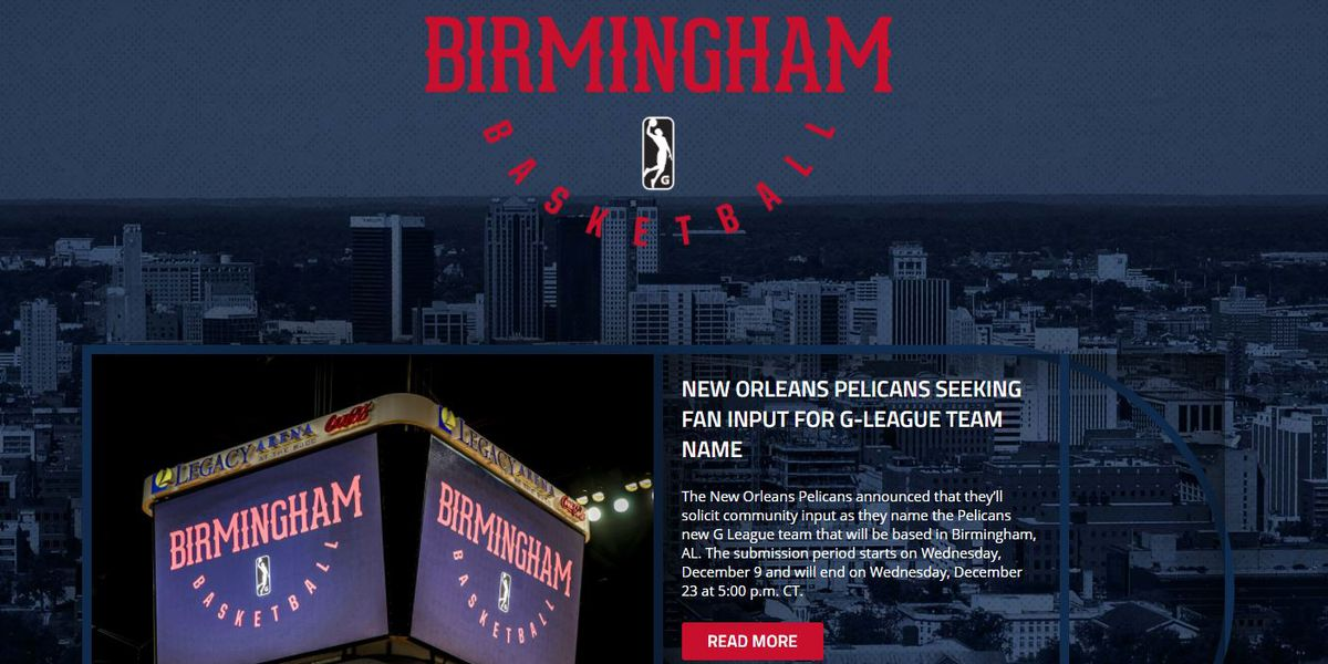 What should Birmingham's new basketball team be named?