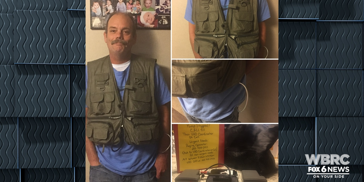 UPDATE: AL man wearing heart monitor vest called bomb threats on himself