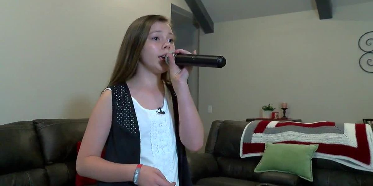 11-year-old girl from Brookwood, AL dreams of singing her way to the top
