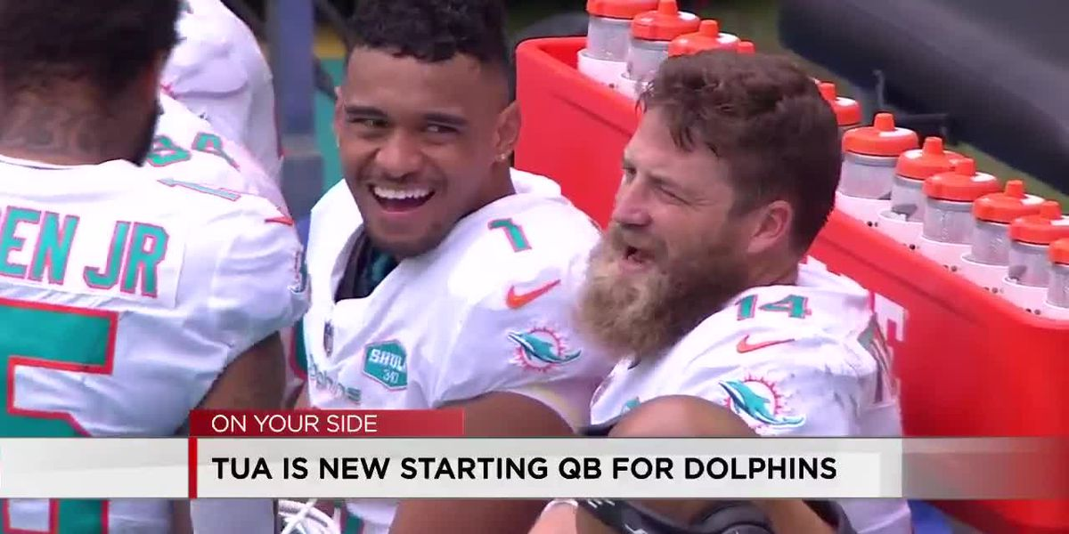 Tua new starting QB for Dolphins
