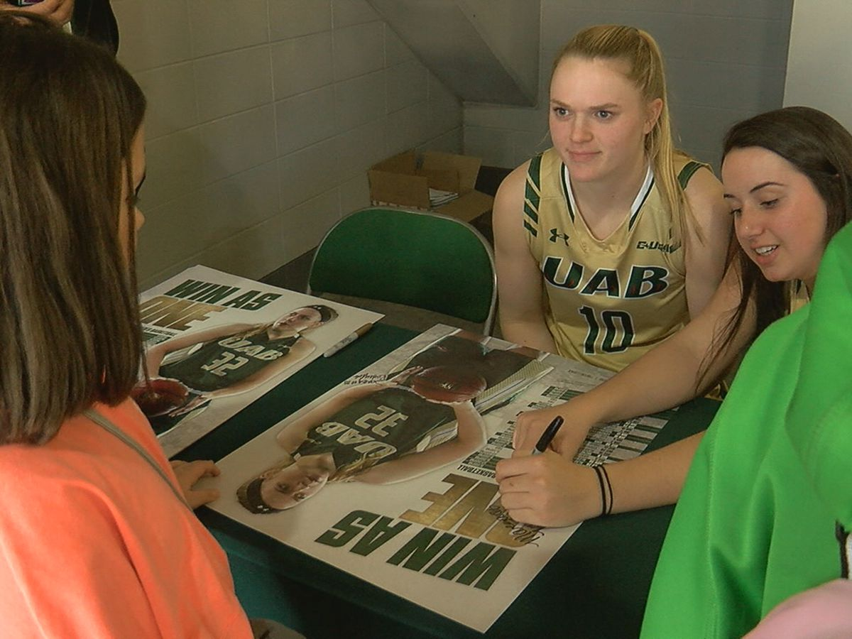 UAB Blazers inspire young girls despite loss to Rice