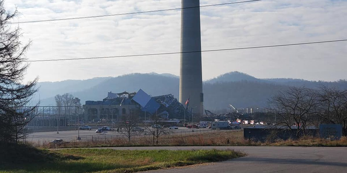 Two workers missing, 3 hospitalized in southwest Ohio power plant collapse