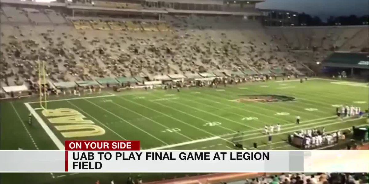 UAB to play final game at Legion Field