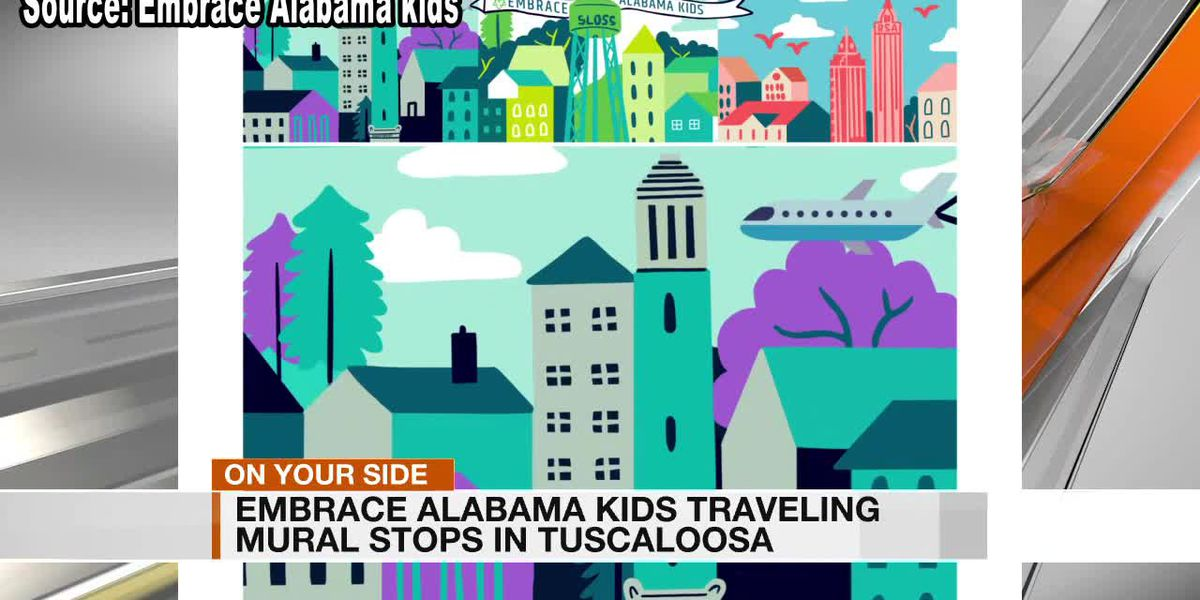 Traveling Mural Coming To Tuscaloosa