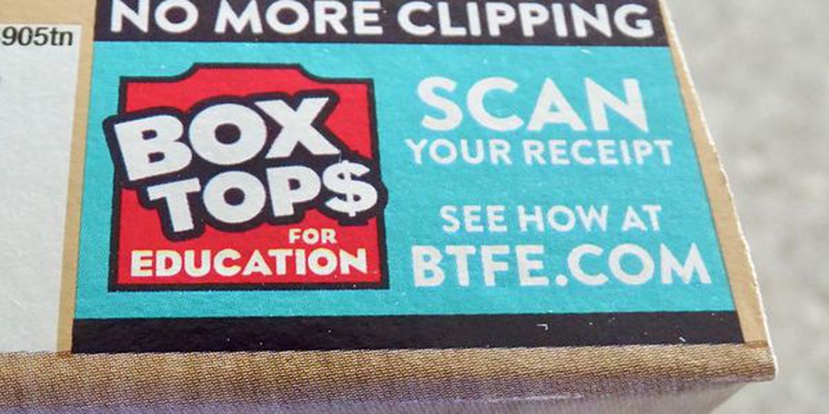 Box Tops for Education Program is going digital