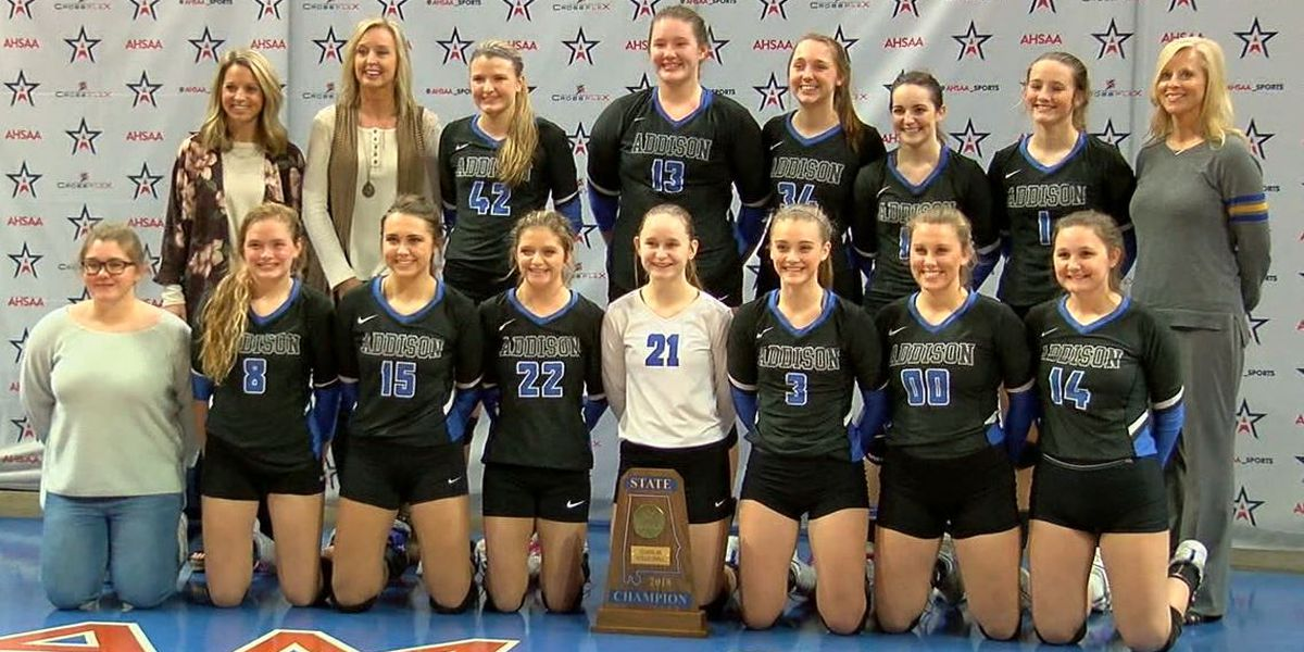 Addison repeats as 2A state volleyball champs