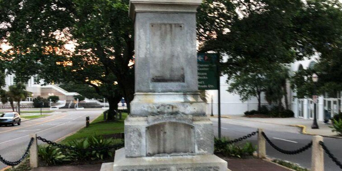 Statue of Civil War's Admiral Raphael Semmes in Mobile removed overnight
