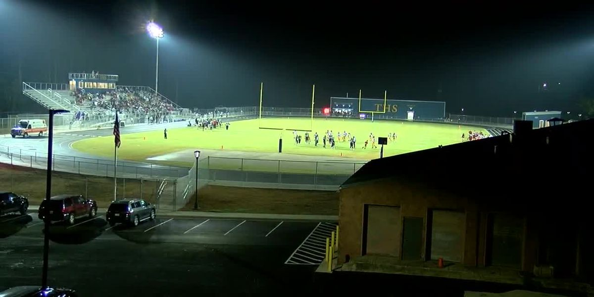 Tarrant H.S. plays its first home game in the Tarrant City limits in more than five years