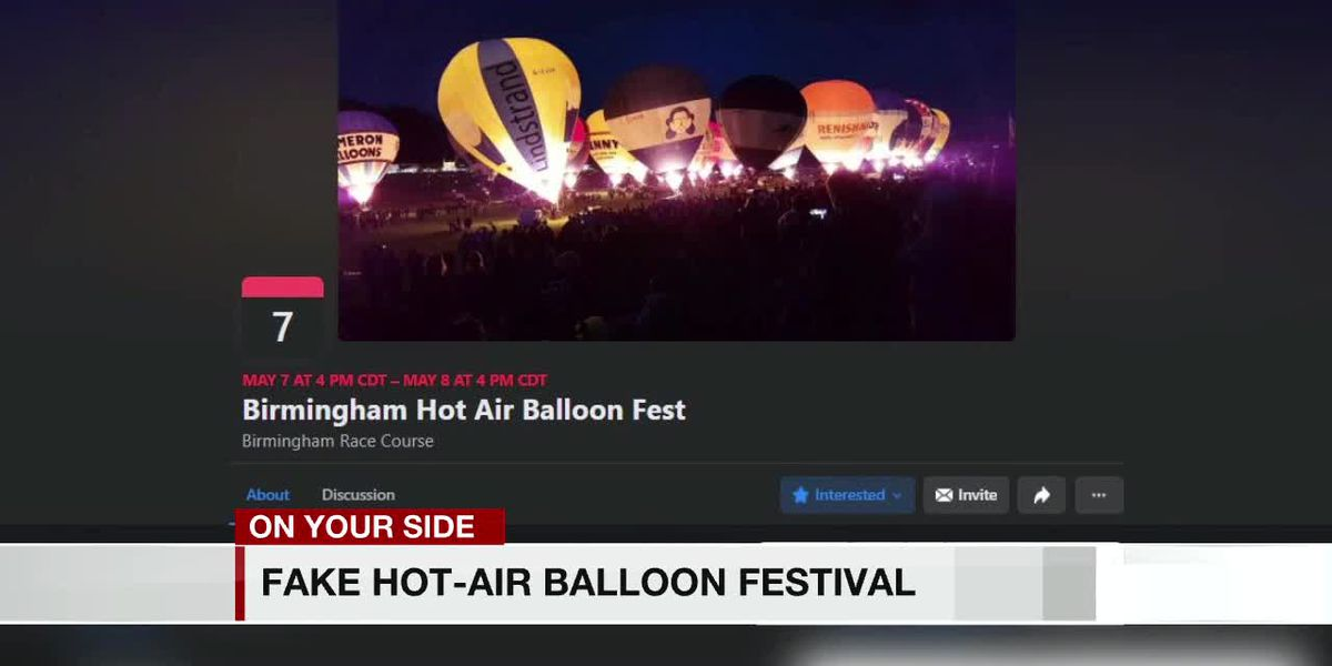 Don't get bamboozled by imposter Birmingham Hot Air Balloon event
