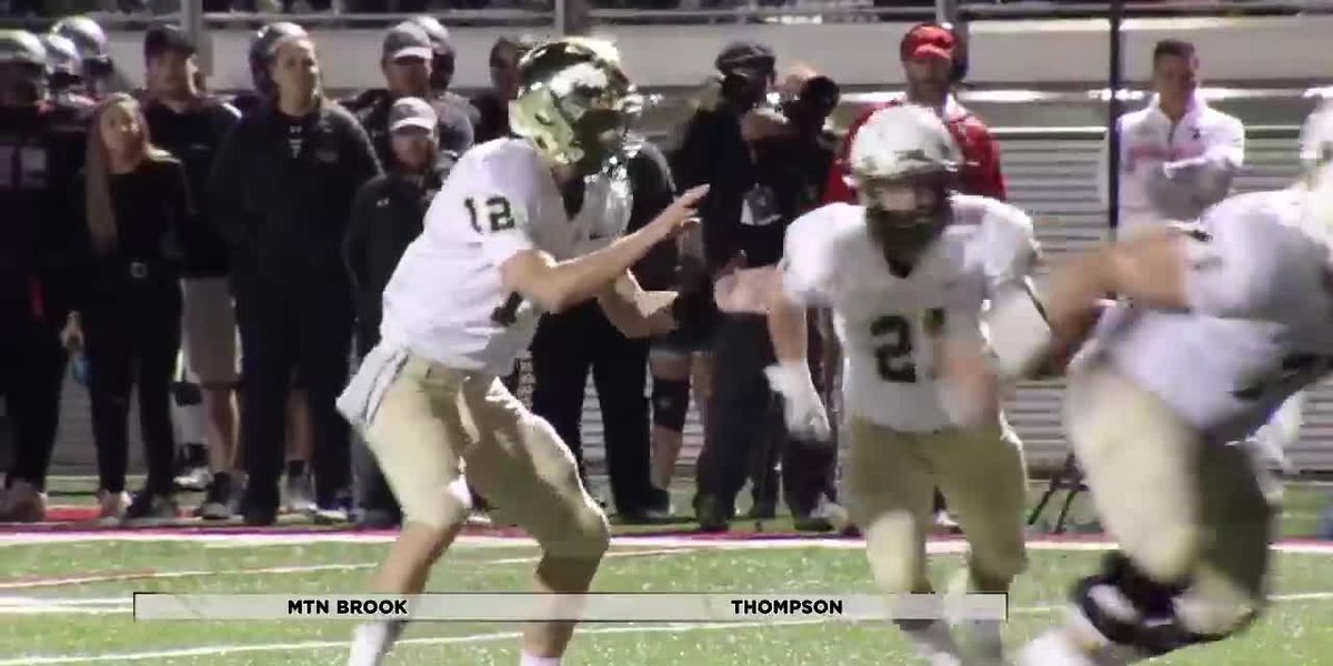 Sideline 2019 - Week 8 - Game of the Week - Mtn Brook v. Thompson
