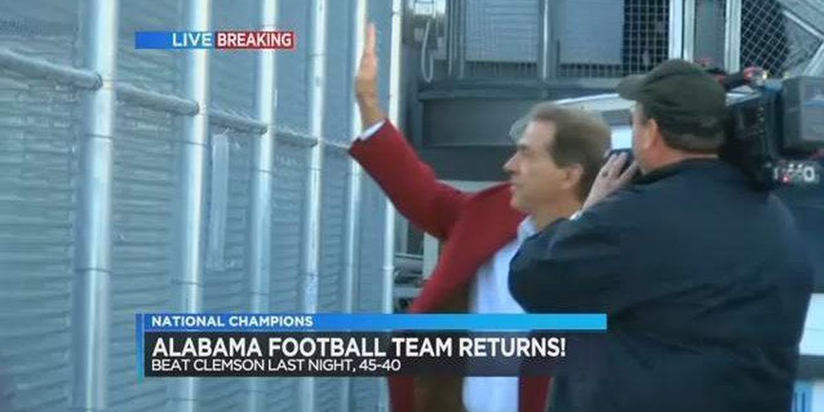 Crimson Tide returns home and apartment residents are upset about security