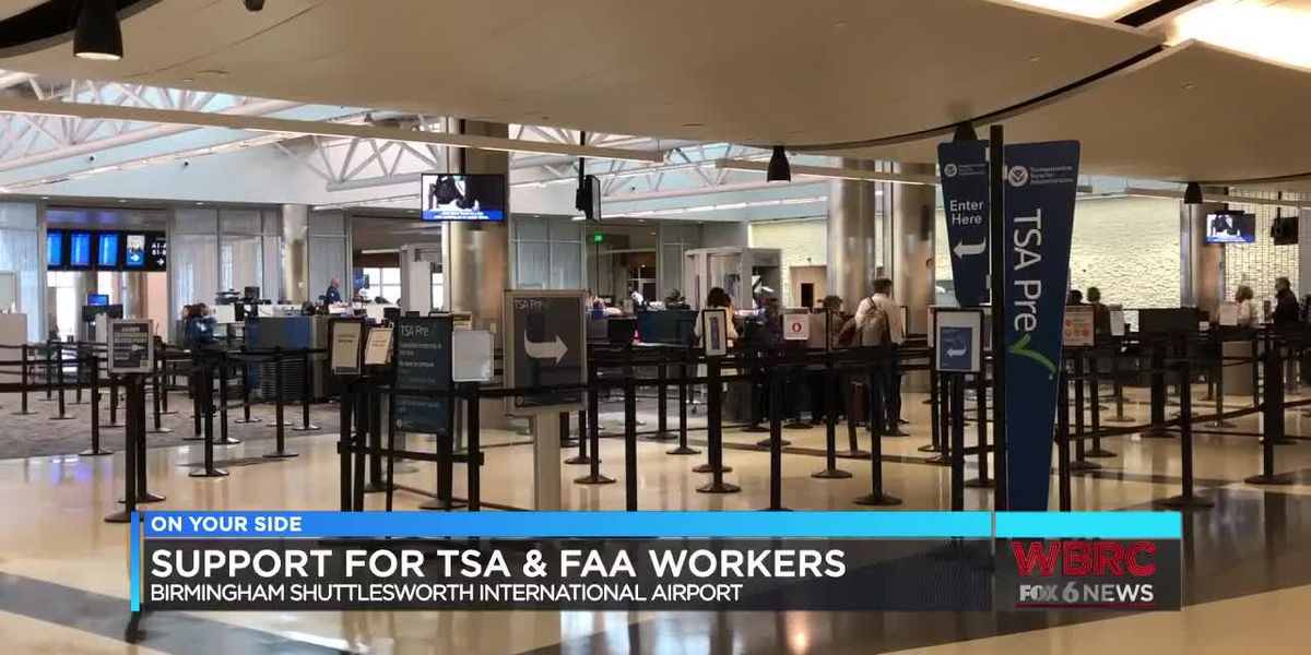 Support for TSA & FAA workers