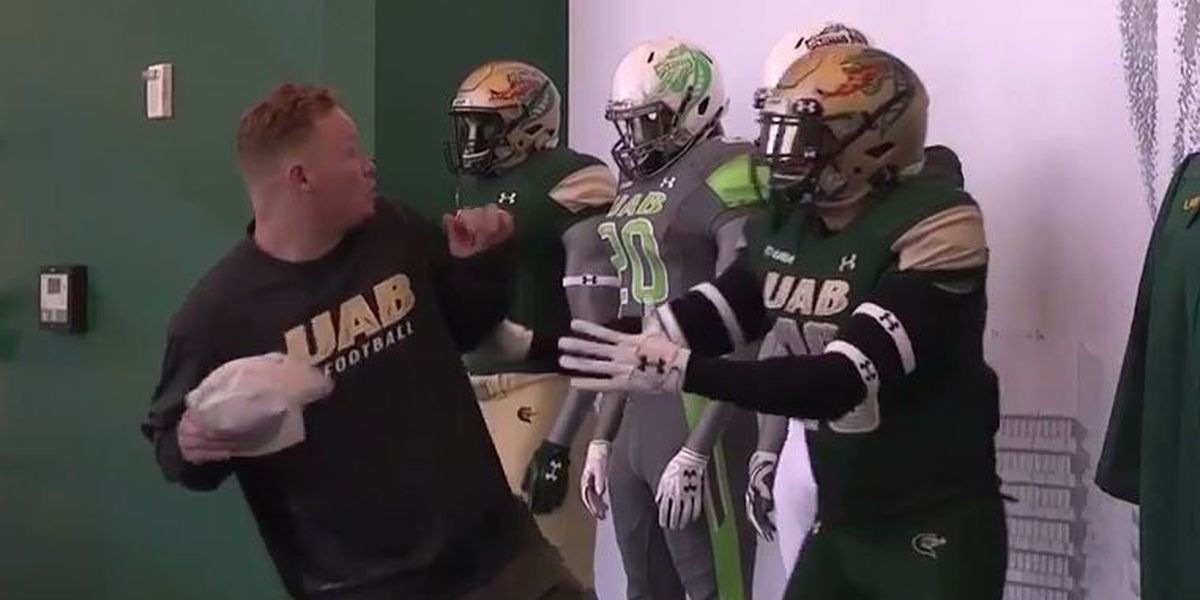 Trick or Treat: UAB football coach scares players