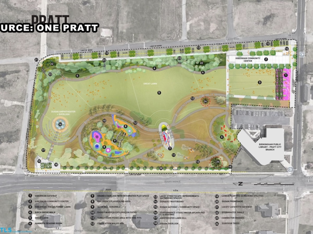 Pratt City Park to move forward