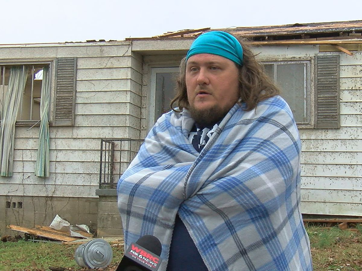 Fultondale man plans to rebuild after tornado destroys home