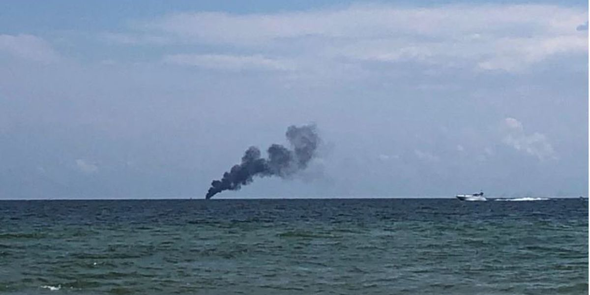 Charter boat catches fire off coast of Orange Beach