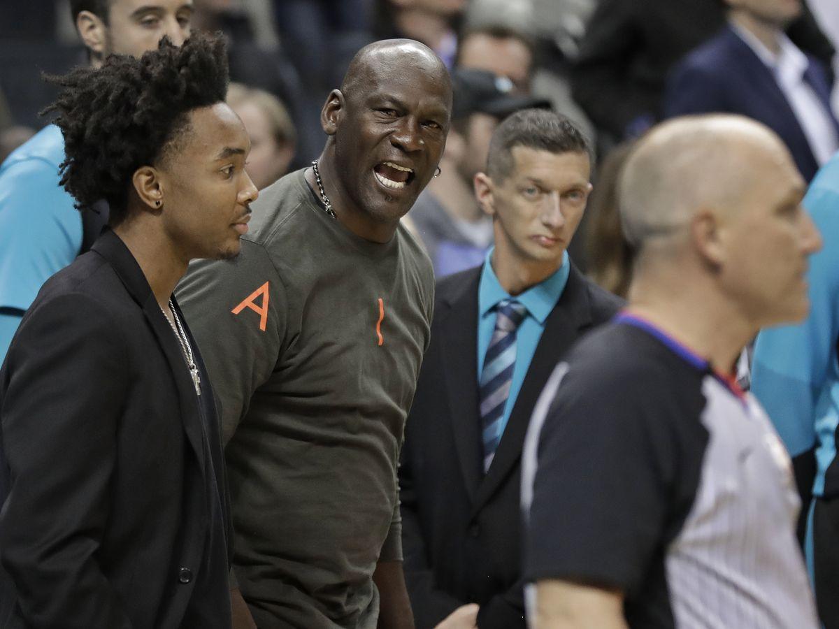 Jordan tells AP: Monk interaction was a 'tap of endearment'