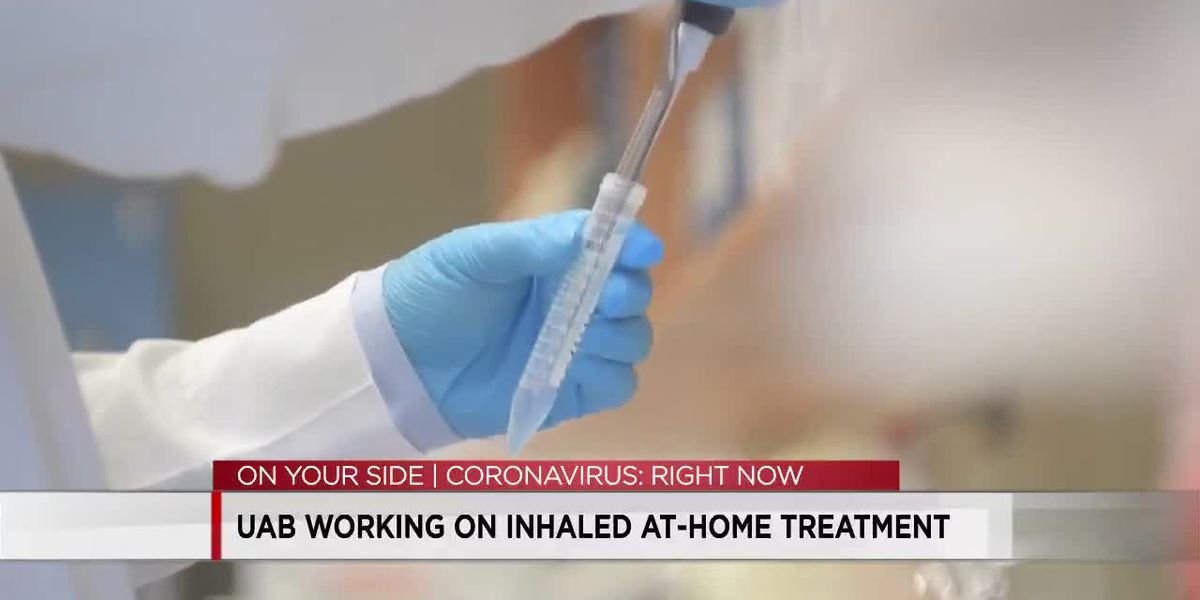 UAB working on inhaled at-home treatment