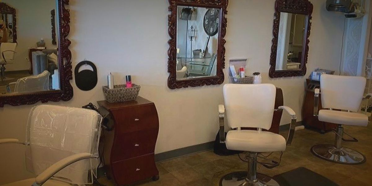 Salon owner diagnosed with COVID-19 while business closed