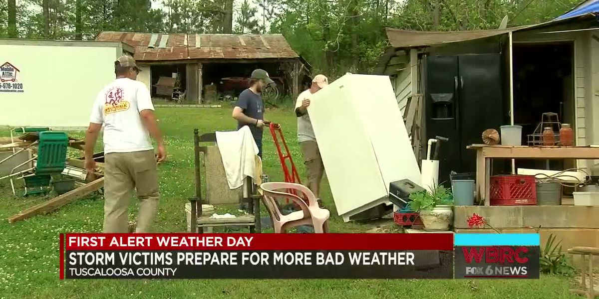 Tuscaloosa Co. storm victims prepare for more bad weather