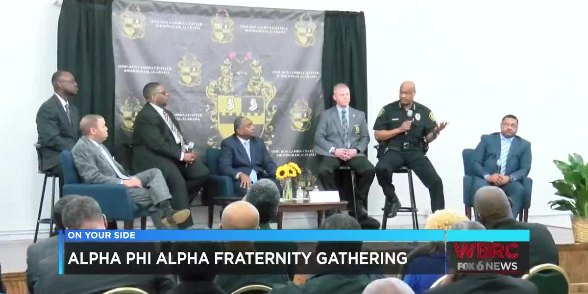 Alpha Phi Alpha hosts conversation with top law enforcement on curbing violence