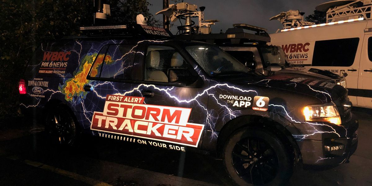 WBRC First Alert Storm Tracker powered by Town & Country Ford