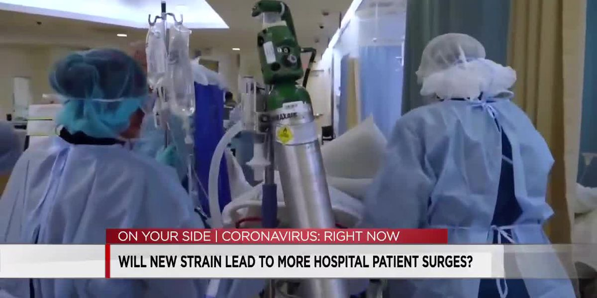 State health leaders worry for hospitals if new COVID-19 variant becomes dominant in March