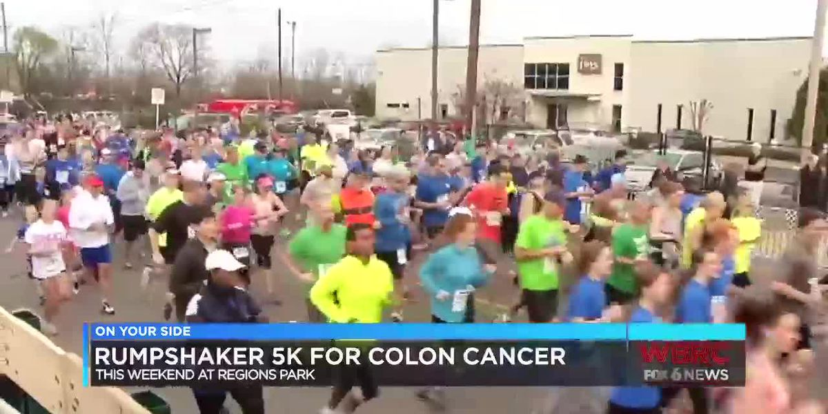 Rumpshaker 5K for colon cancer