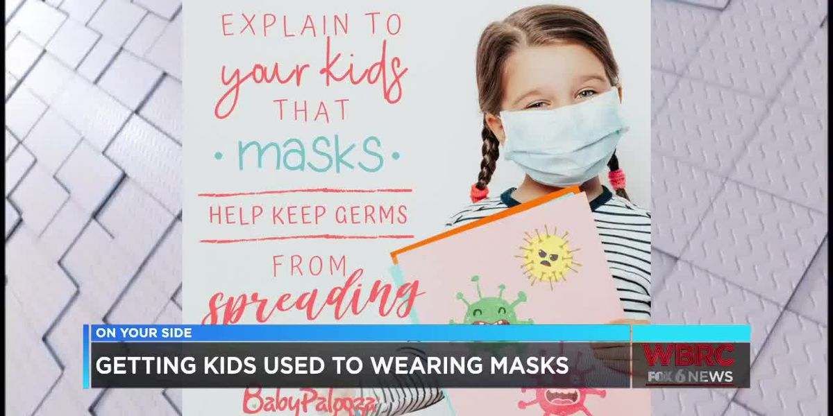 Tips for getting your kids to wear masks