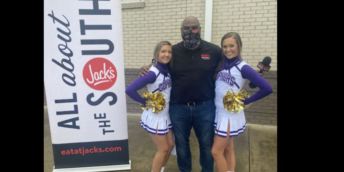 Jeh Jeh's WBRC FOX6 Sideline Pep Breakfast presented by Jack's at Hueytown