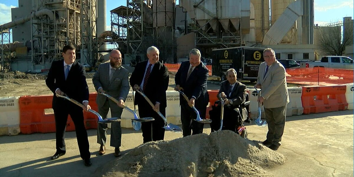National Cement Company breaks ground on major expansion
