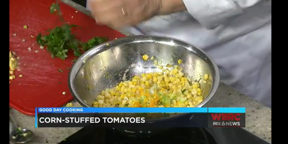 Wendy Cruse: Corn and Cojita Stuffed Tomatoes