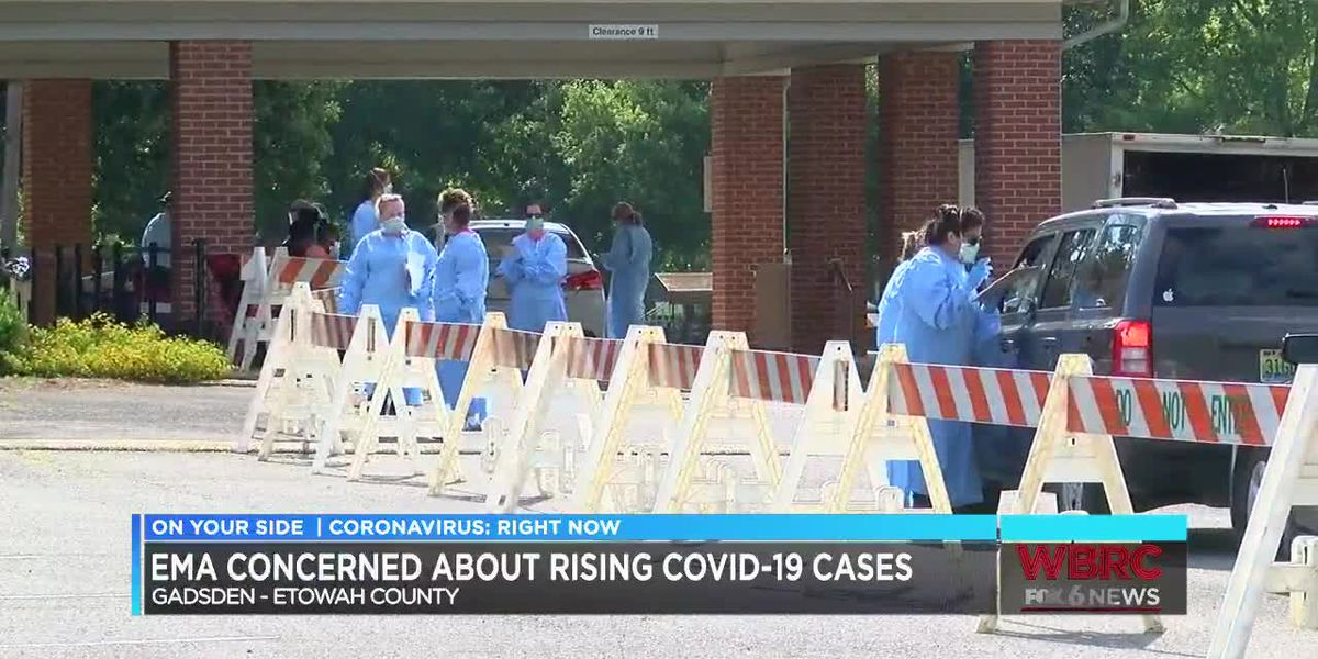 Etowah County now has 1,200 people who've tested positive for COVID-19