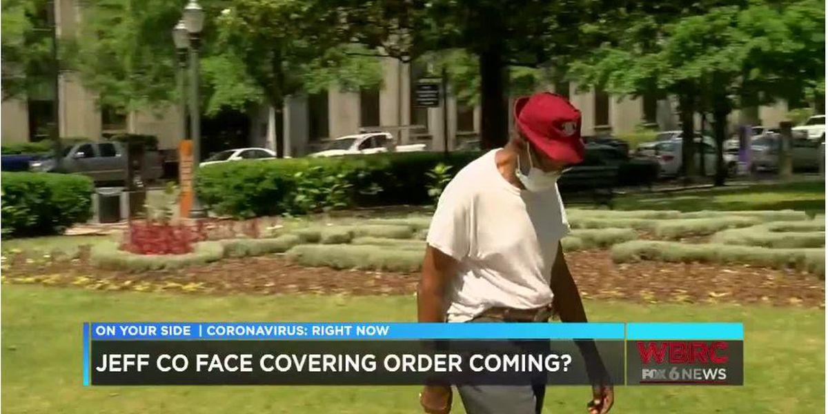 Jefferson County leaders hear pitch for Countywide face masks
