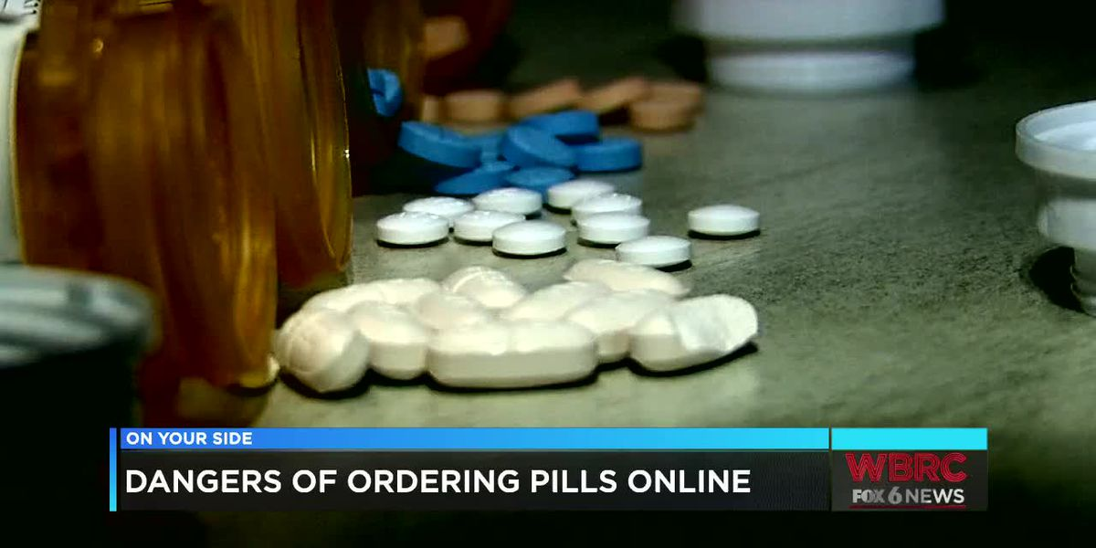 Dangers of ordering pills online