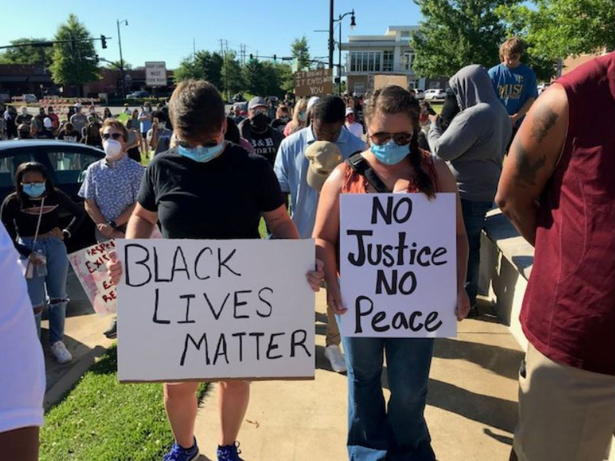 Hundreds gather for prayer, peaceful protest in Tuscaloosa