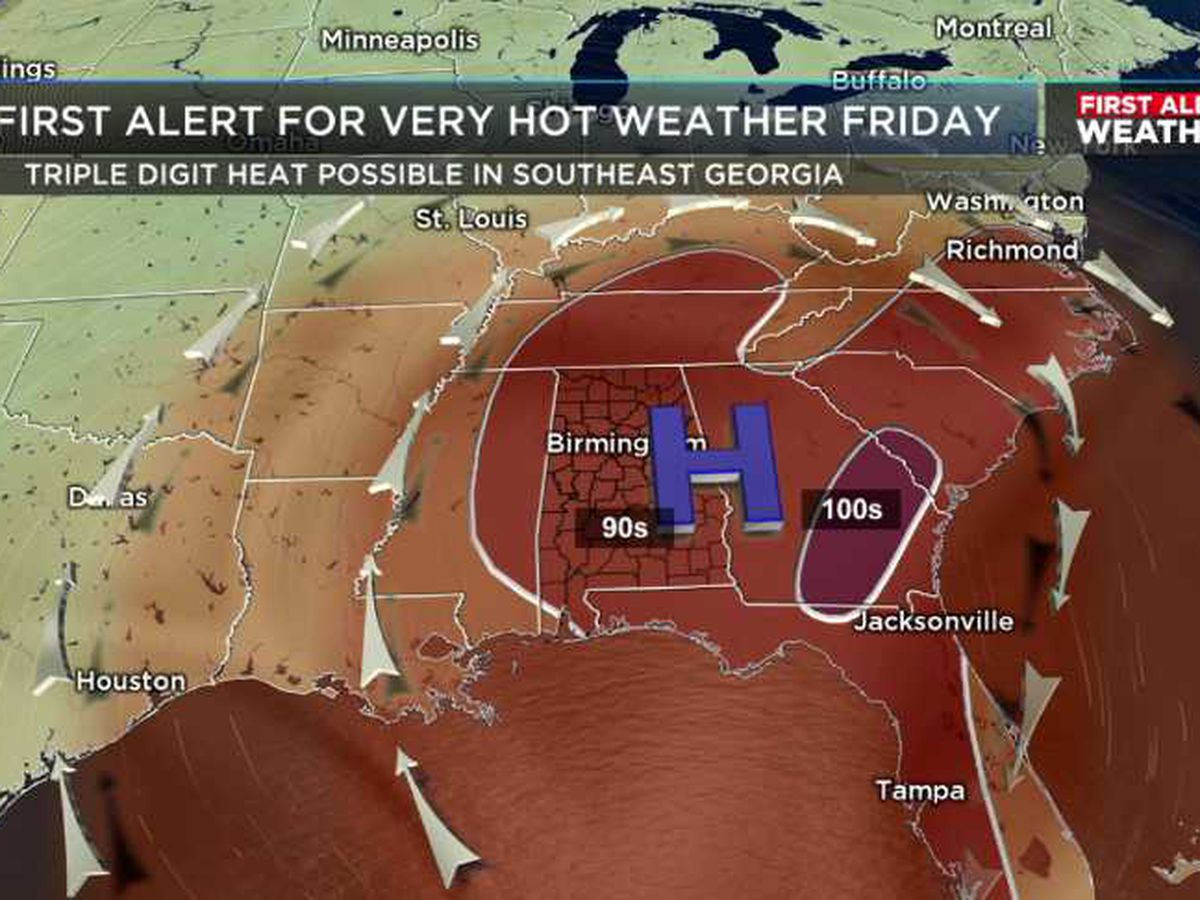 FIRST ALERT: Get ready for a hot Memorial Day Weekend