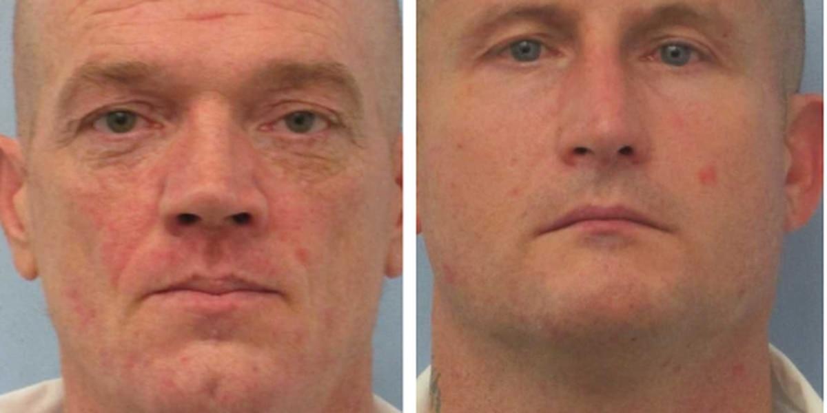 Both escapees from Childersburg Work Release Center recaptured
