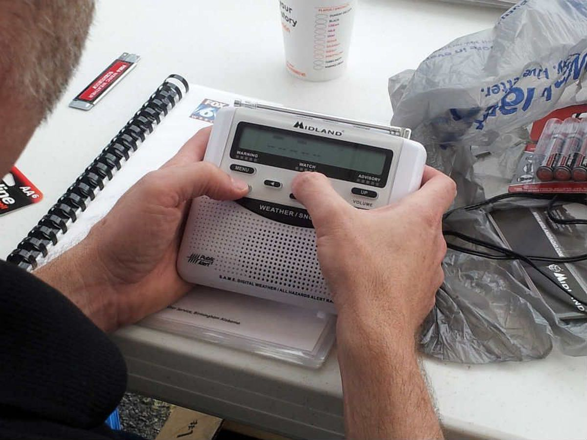 FIRST ALERT WEATHER Team program weather radios