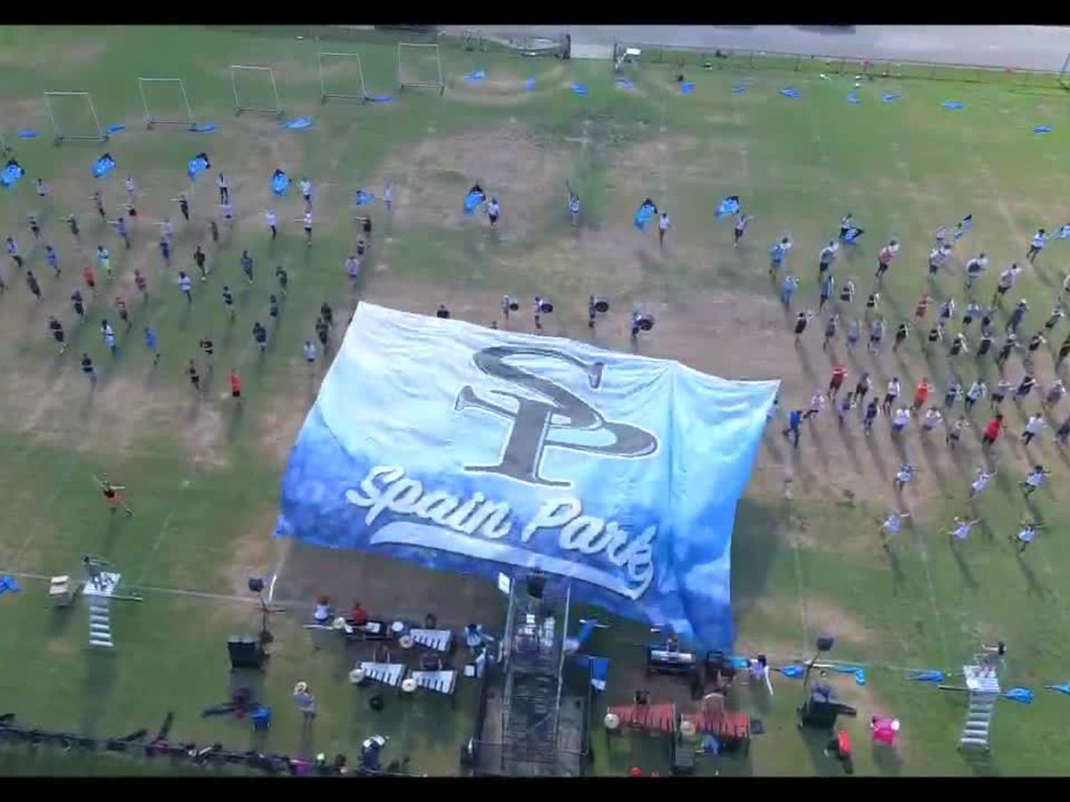 Spain Park HS Marching Band performs Rhapsody in Blue as the band of the week