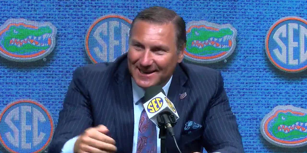 Florida's Dan Mullen talks scoring first Hole in One