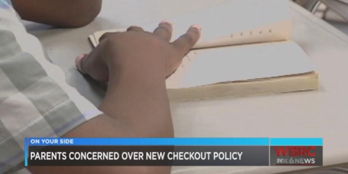 Tuscaloosa Co. parents concerned over new school checkout policy